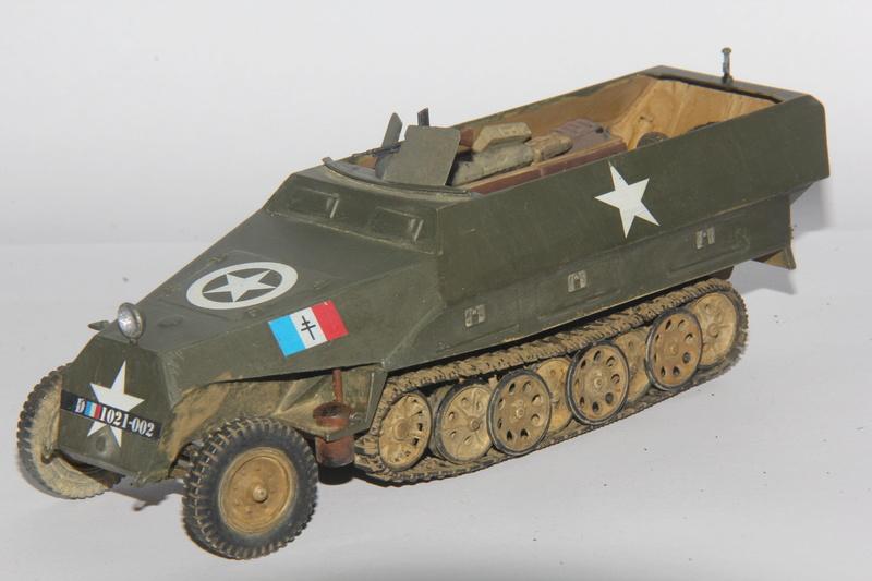 Sdkfz 251/1 Ausf D Escadron Besnier , Tamiya 1:35 00510