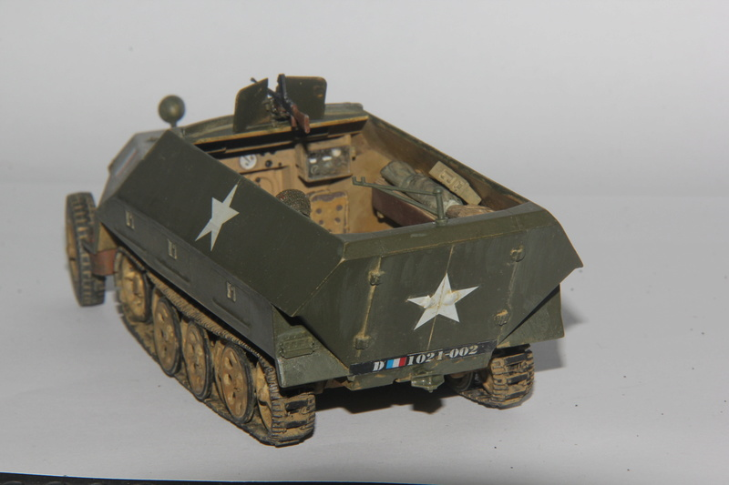 Sdkfz 251/1 Ausf D Escadron Besnier , Tamiya 1:35 00810