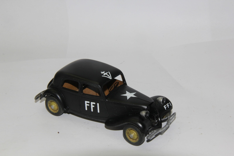 Traction FFI - Tamiya 1/35 01512
