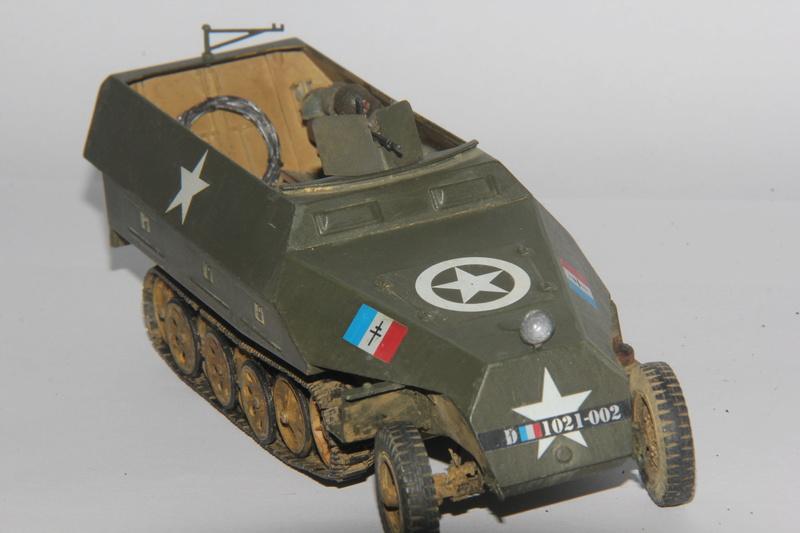 Sdkfz 251/1 Ausf D Escadron Besnier , Tamiya 1:35 01810