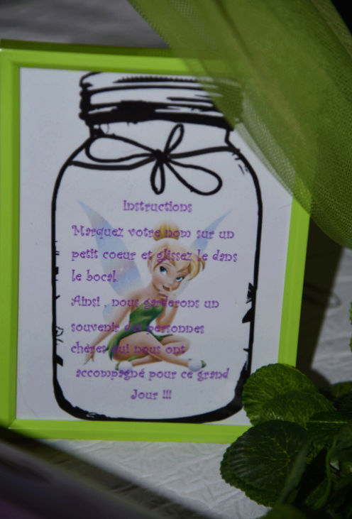 baptême thème fée clochette  - Page 3 Instru10