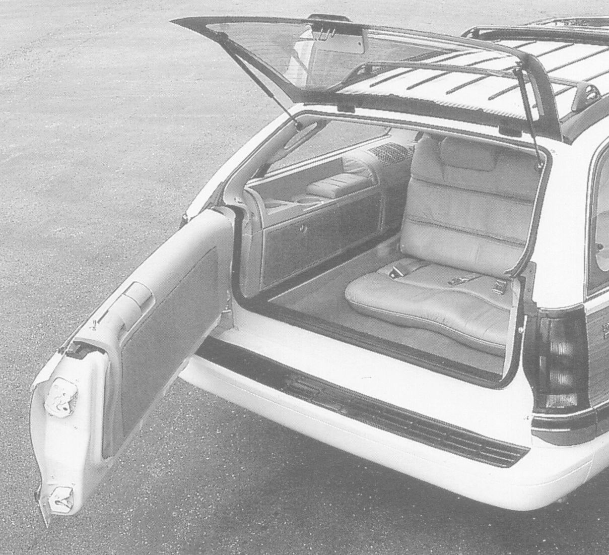 "GM Prototype Roadmaster ""Limied"" 3rd-row seat option! 1995_b10"