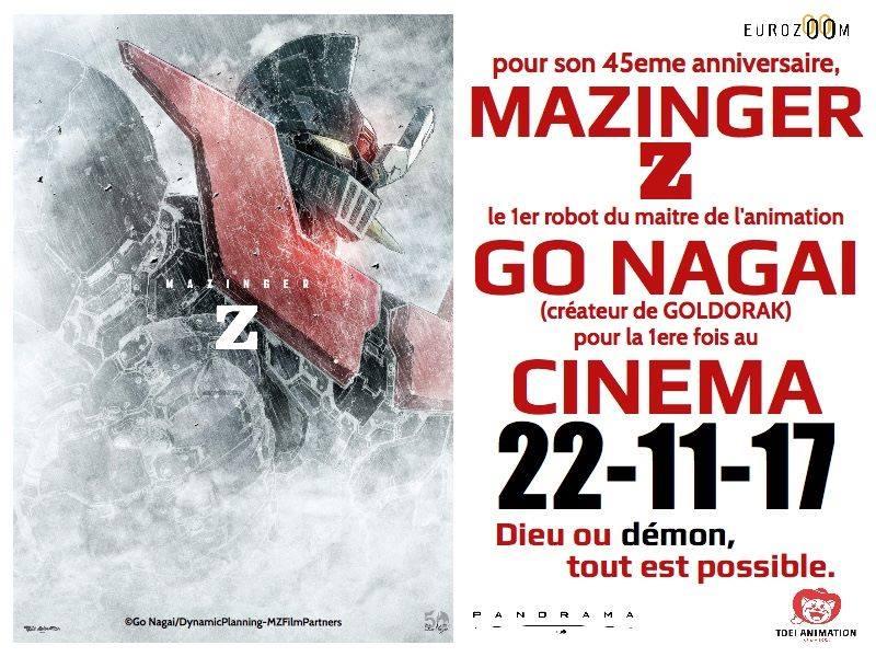 Toei annonce un film d'animation Mazinger Z  Film10