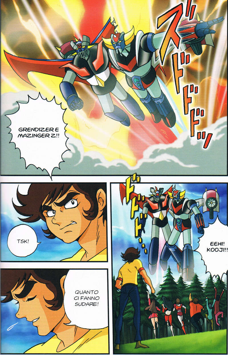 Mazinger Z / Great Mazinger / UFO Robo Grendizer ... par les chiffres ! Volume10