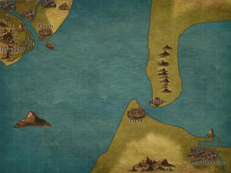 Age of Sail Era Fantasy. Map_110
