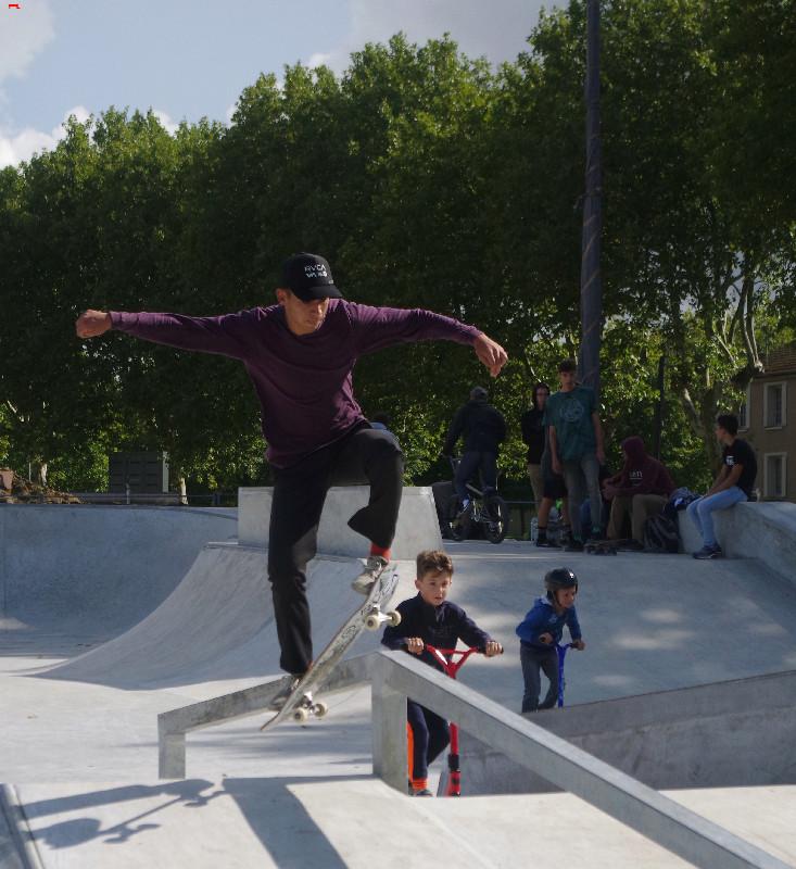 Le skatepark de Rochefort, c'est du béton !!!! Imgp2618