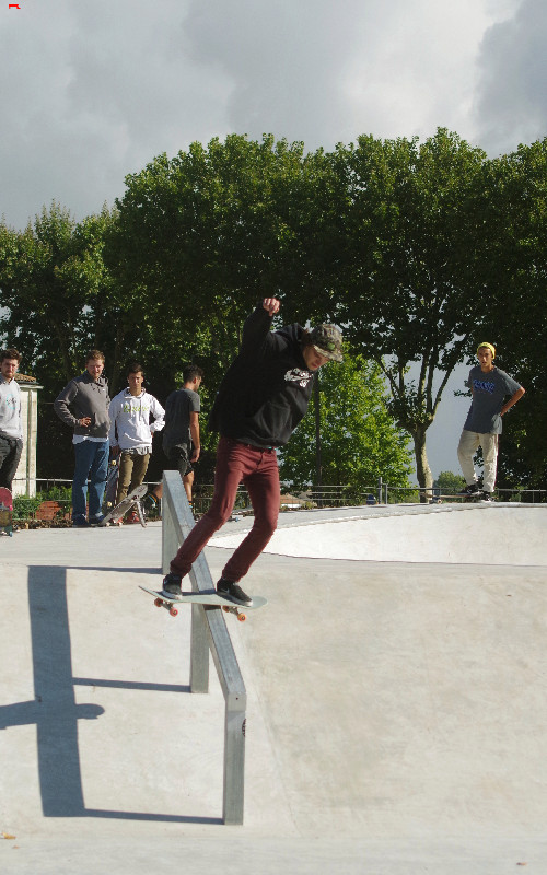 Le skatepark de Rochefort, c'est du béton !!!! Imgp2811