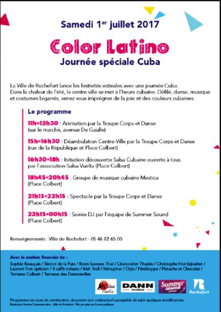 Cuba Rochefort 13h30 de fête ! Soirye10