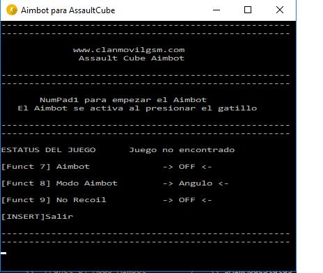 Assault Cube Aimbot 2luubs10