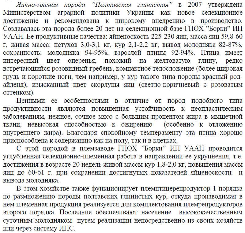 Порода кур Полтавская глинистая - Страница 10 Image484