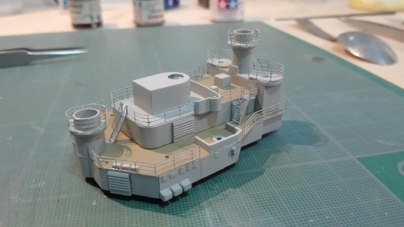 Bismarck par HellCat76 1/350 Academy, kit eduard - Page 8 Img_2023