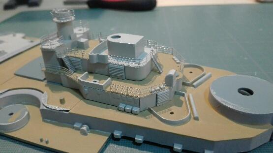 Bismarck par HellCat76 1/350 Academy, kit eduard - Page 8 Part_110