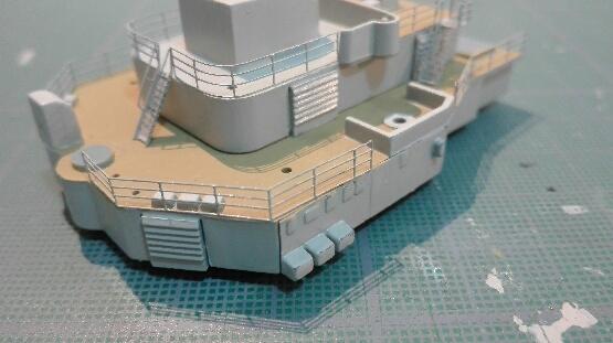 Bismarck par HellCat76 1/350 Academy, kit eduard - Page 8 Part_112