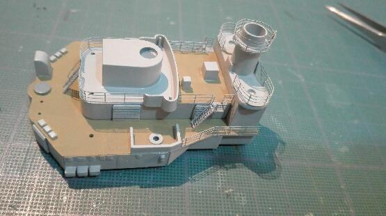 Bismarck par HellCat76 1/350 Academy, kit eduard - Page 8 Part_113