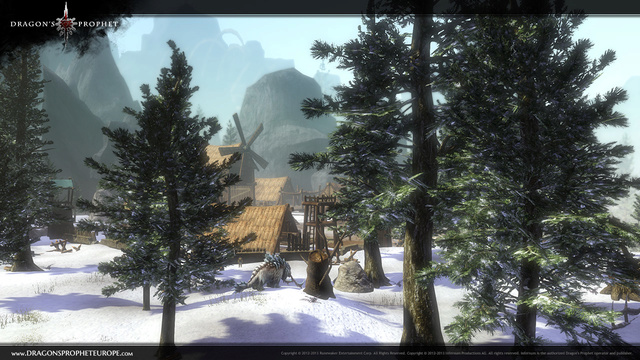 Les collines d'Anorris Winter32