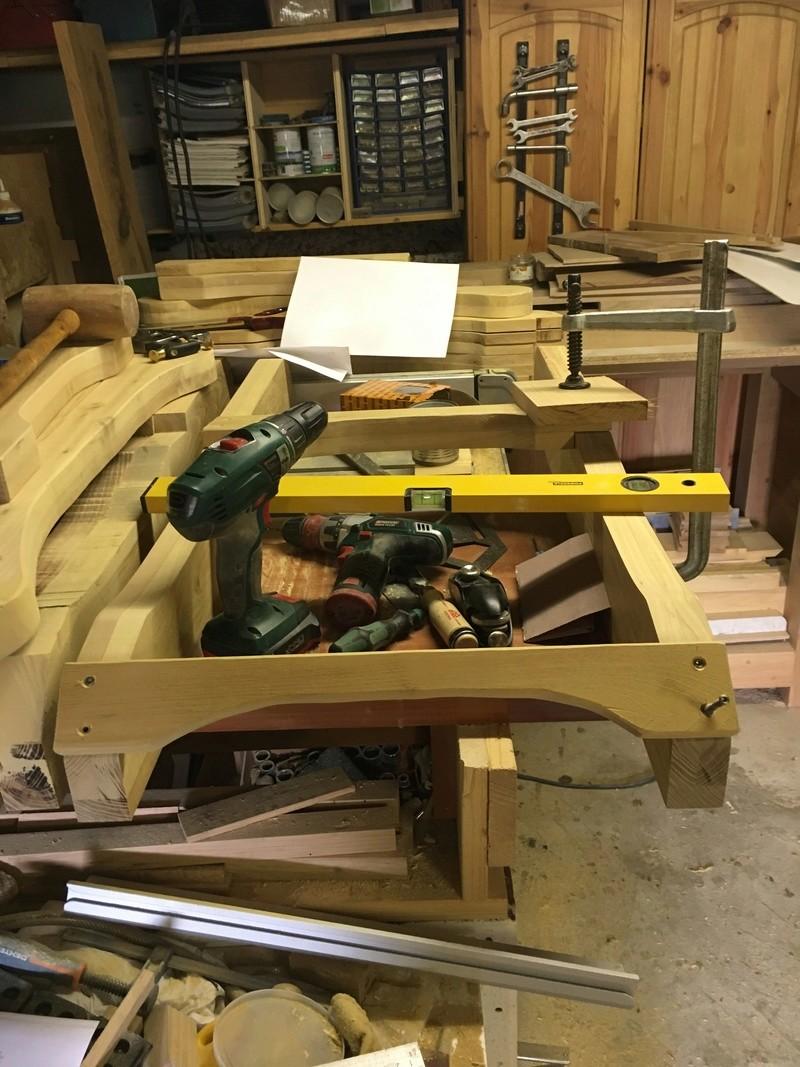 Adirondack, réalisation de 3 fauteuils de jardin - Page 2 Img_2024