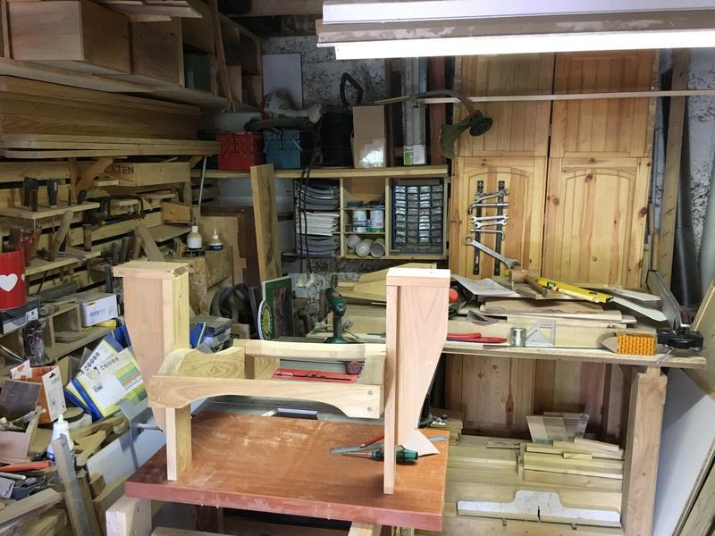 Adirondack, réalisation de 3 fauteuils de jardin - Page 2 Img_2032