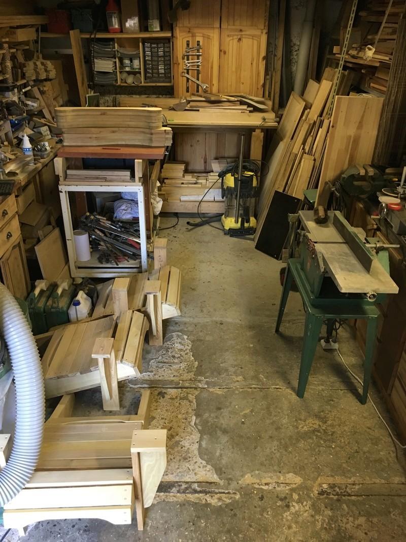 Adirondack, réalisation de 3 fauteuils de jardin - Page 2 Img_2033