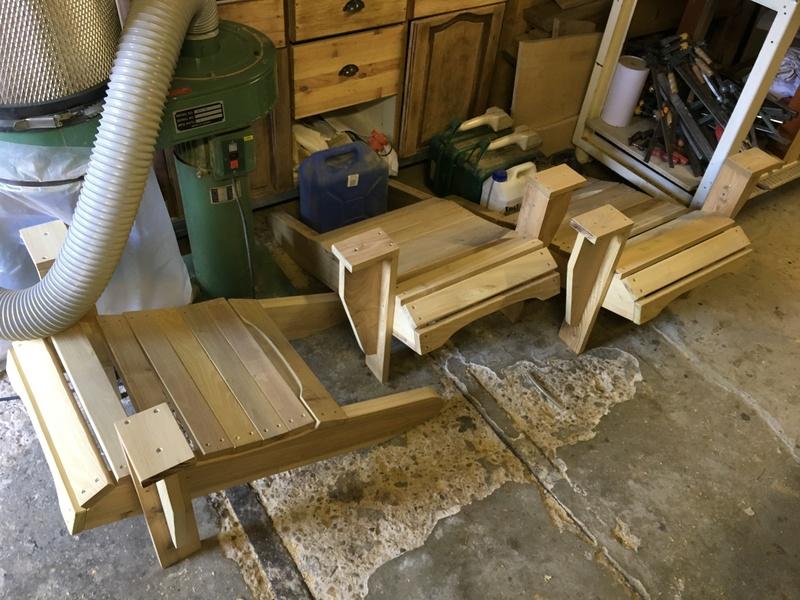 Adirondack, réalisation de 3 fauteuils de jardin - Page 2 Img_2034