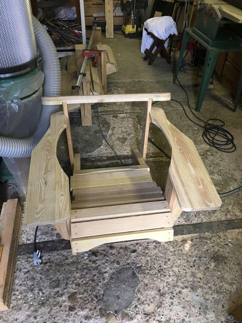 Adirondack, réalisation de 3 fauteuils de jardin - Page 2 Img_2046
