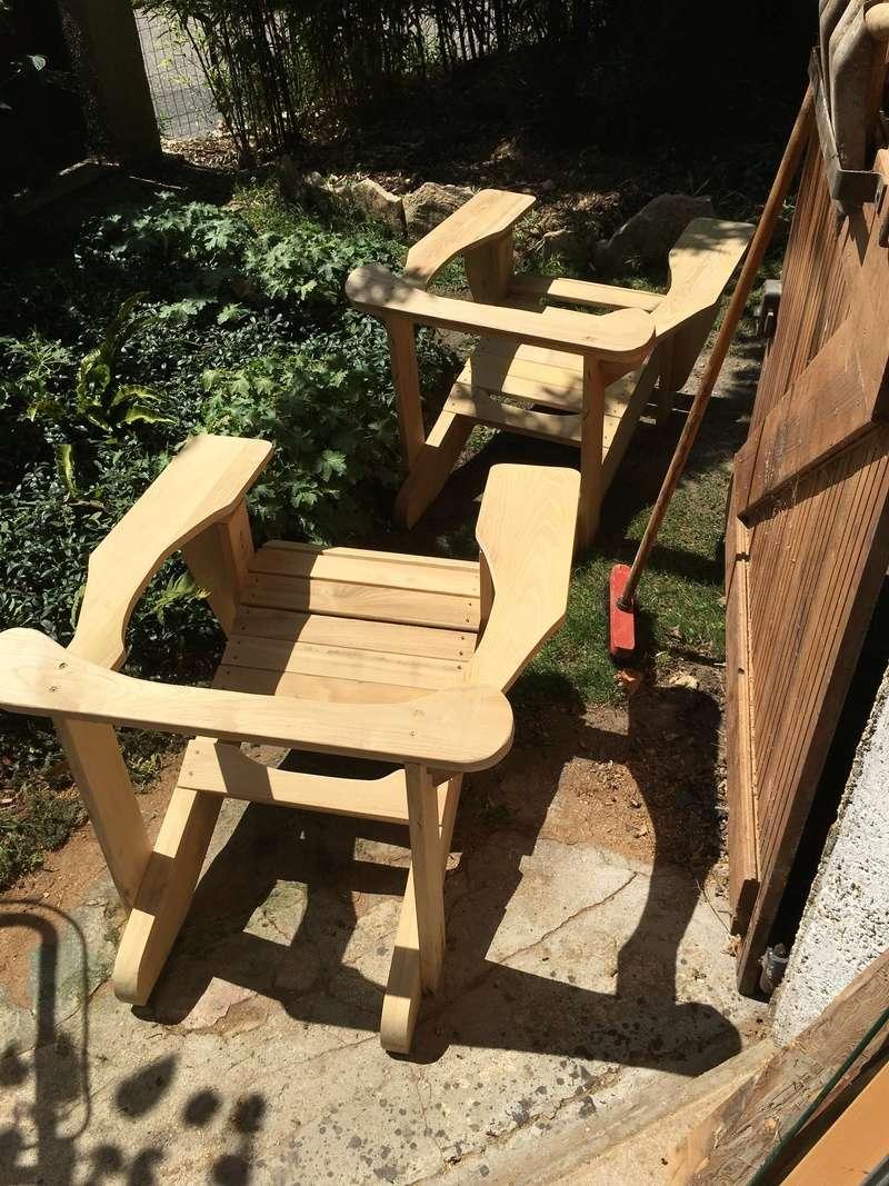Adirondack, réalisation de 3 fauteuils de jardin - Page 2 Img_2047