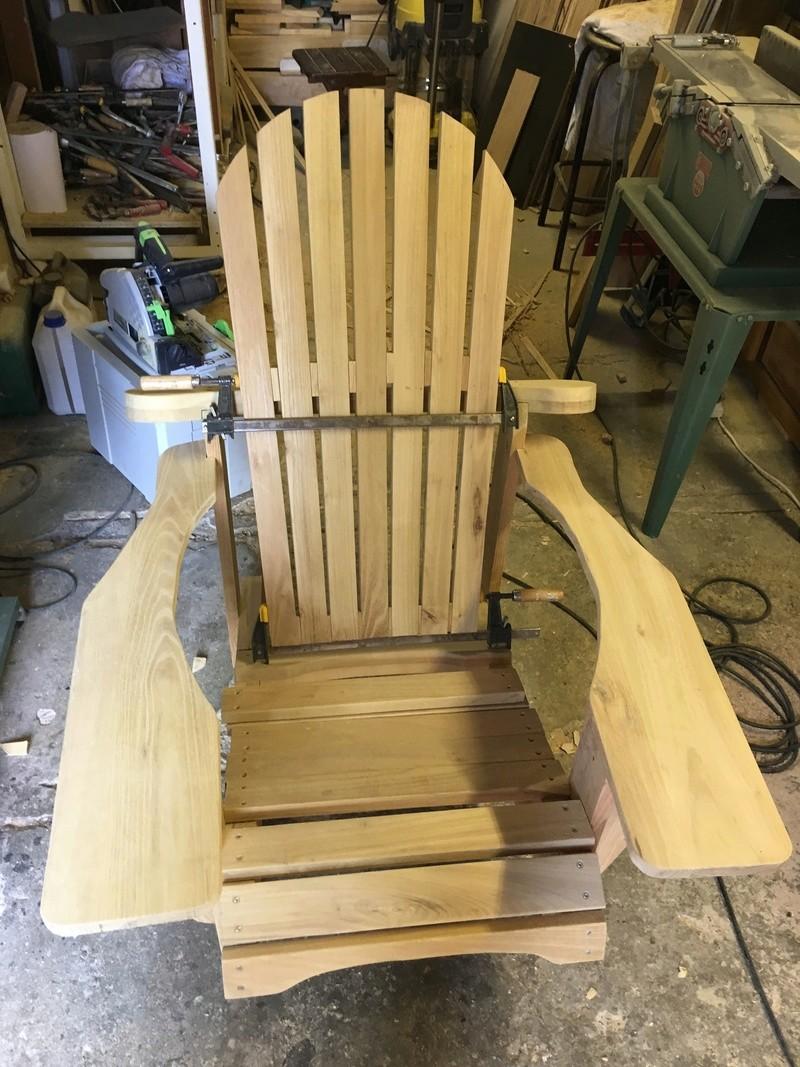 Adirondack, réalisation de 3 fauteuils de jardin - Page 2 Img_2057
