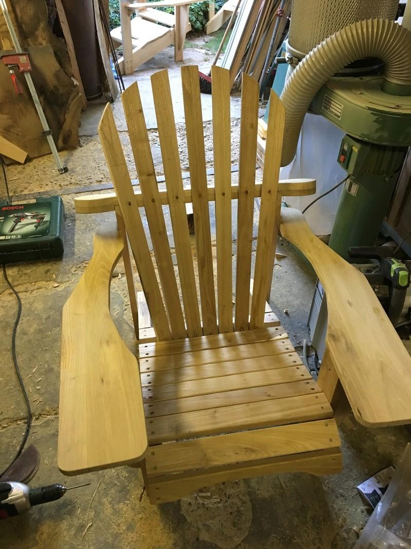 Adirondack, réalisation de 3 fauteuils de jardin - Page 2 Img_2059
