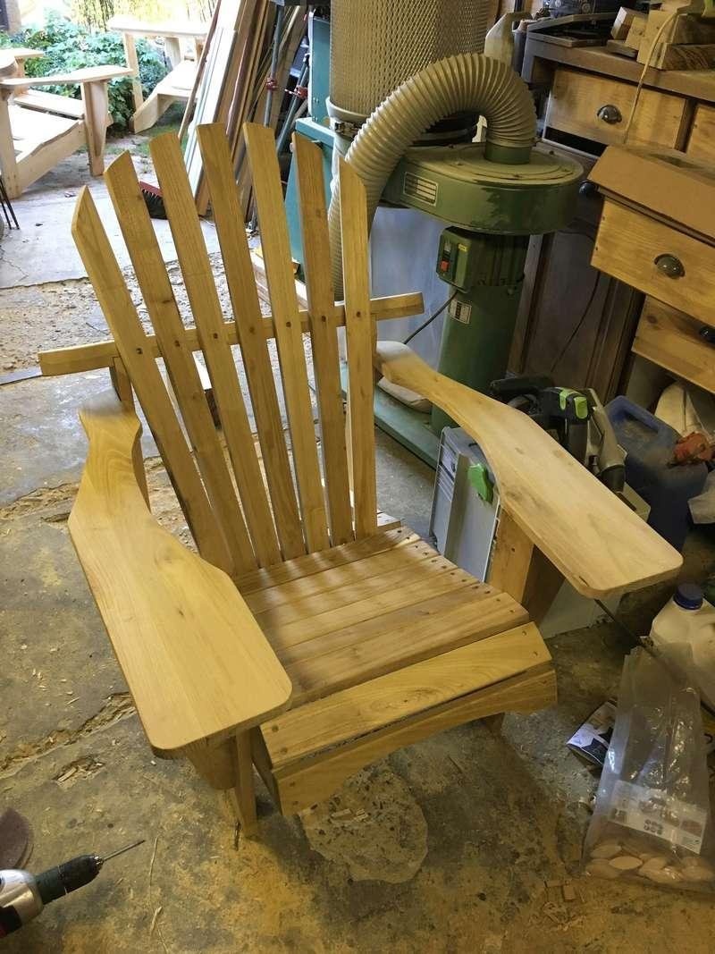 Adirondack, réalisation de 3 fauteuils de jardin - Page 2 Img_2060