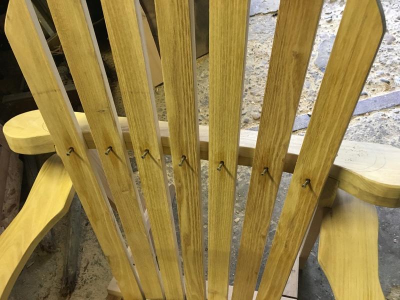 Adirondack, réalisation de 3 fauteuils de jardin - Page 2 Img_2064