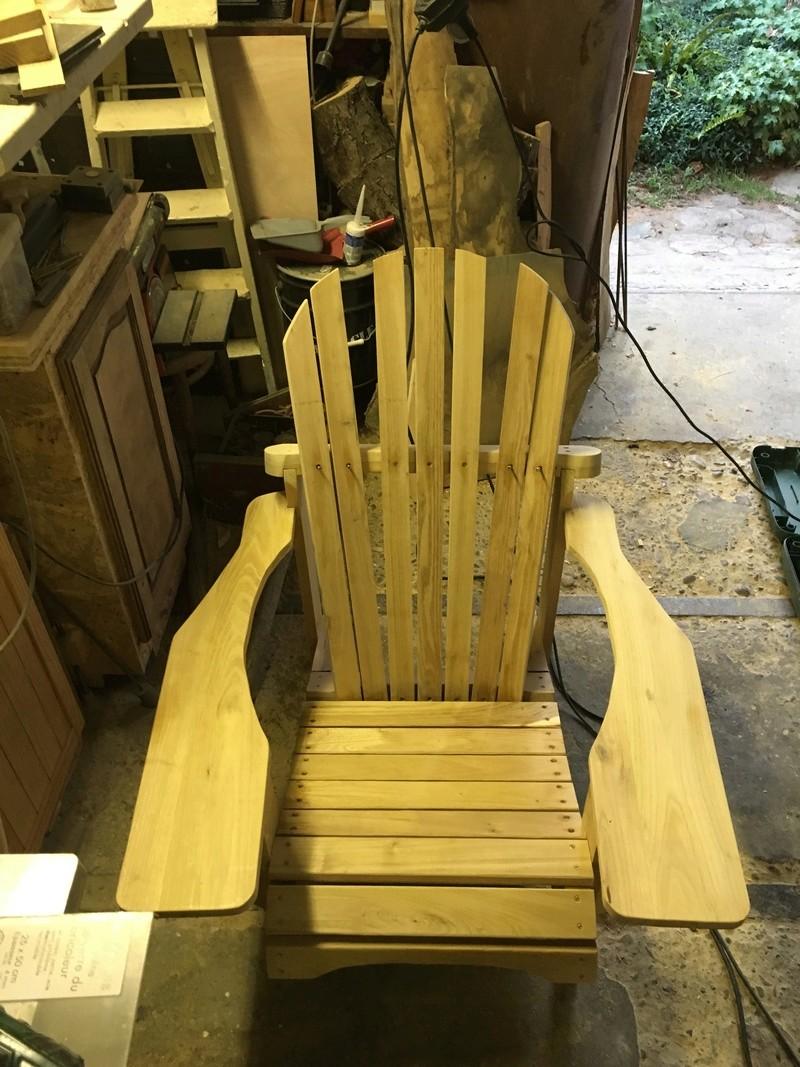 Adirondack, réalisation de 3 fauteuils de jardin - Page 2 Img_2066