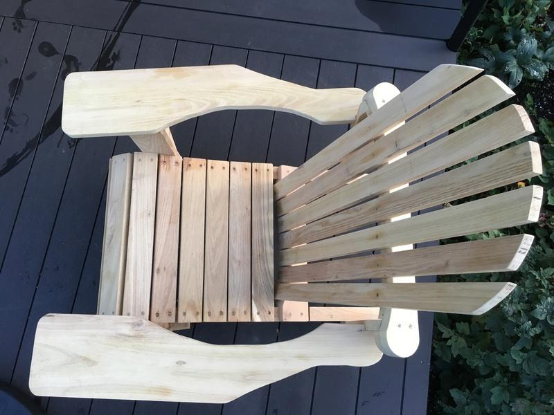Adirondack, réalisation de 3 fauteuils de jardin - Page 2 Img_2113