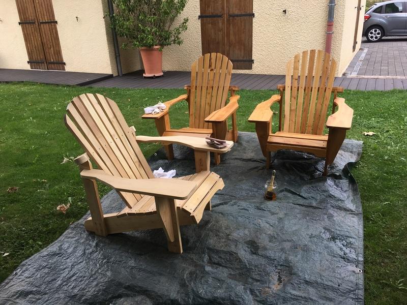 Adirondack, réalisation de 3 fauteuils de jardin - Page 3 Img_2129