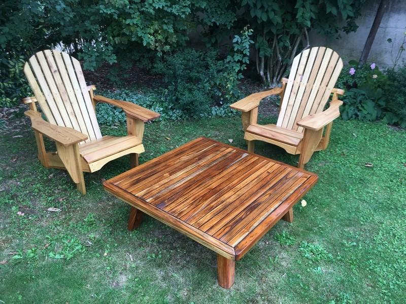 Adirondack, réalisation de 3 fauteuils de jardin - Page 3 Img_2131