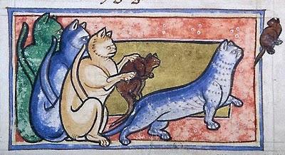 Le massacre des chats, responsable de la Grande peste au Moyen-âge. Chat_a10