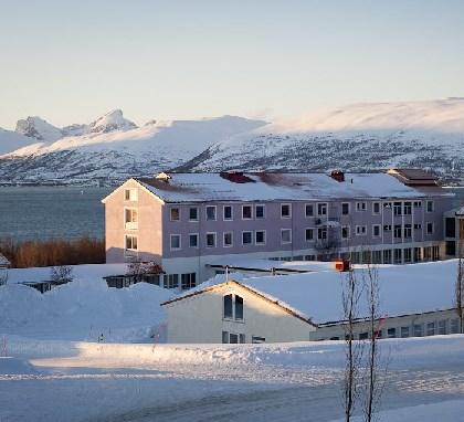 L'hôpital Asgård de Tromsø, Norvège