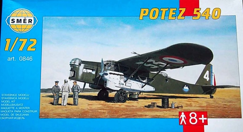Fil rouge 2019 : Potez 540 T (AZ-Model/Heller 1/72) *** Terminé en pg 5 - Page 4 Pot54010
