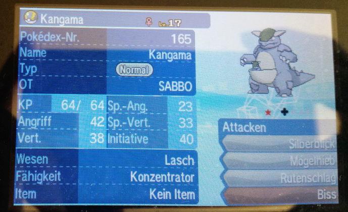 Eure Shiny-Pokemon - Seite 4 Kangam10