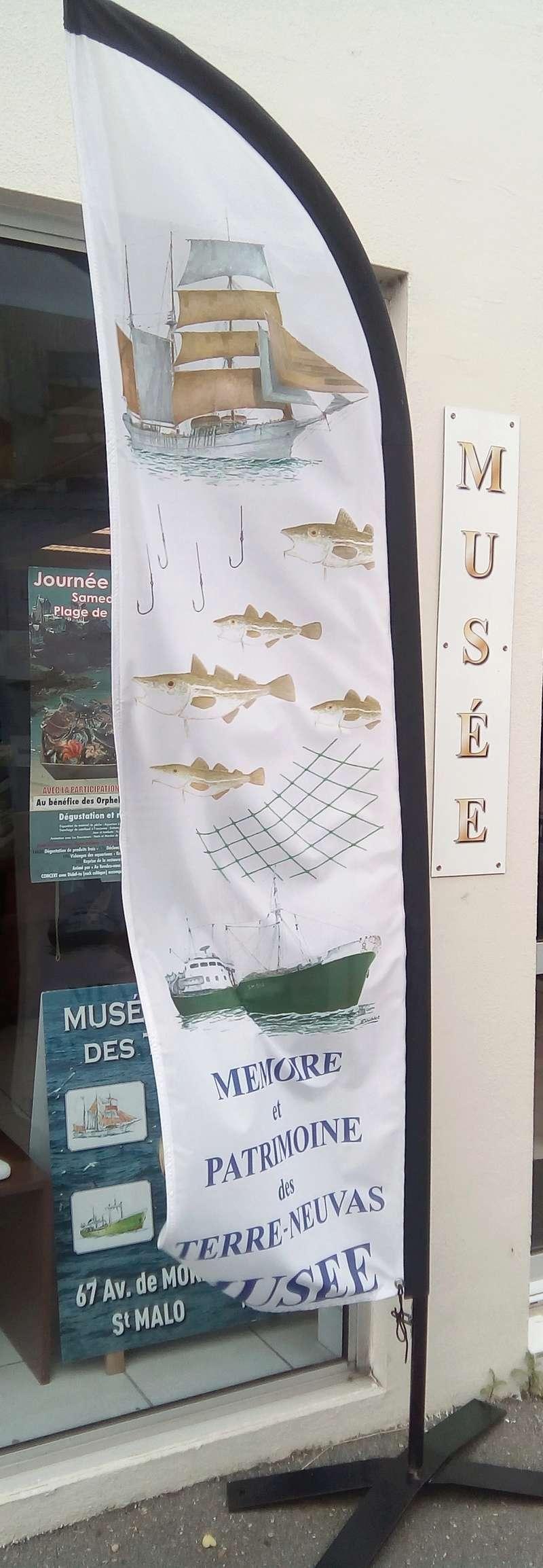 visite musée terre-neuvas à Saint-Malo Bander10