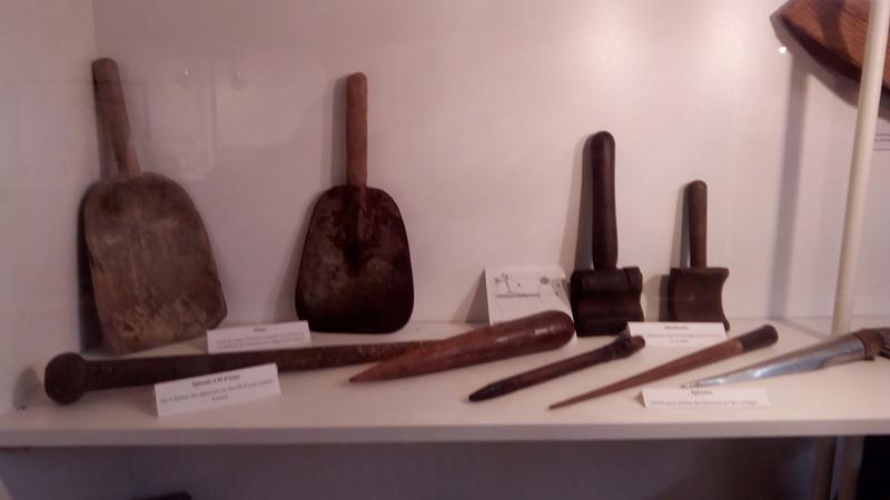 visite musée terre-neuvas à Saint-Malo Outils10
