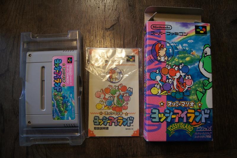 [ESTIM] Super Famicom console et jeux Dsc09513