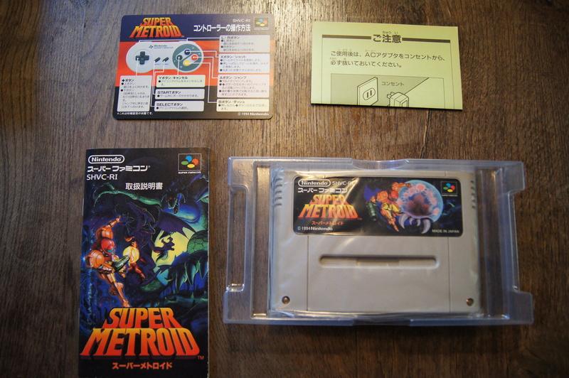 [ESTIM] Super Famicom console et jeux Dsc09514