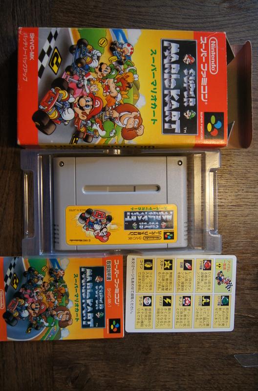 [ESTIM] Super Famicom console et jeux Dsc09515