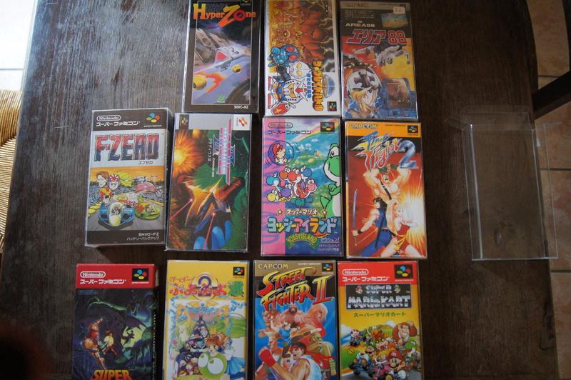 [ESTIM] Super Famicom console et jeux Dsc09516