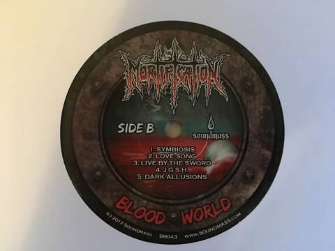 MORTIFICATION ~ Bloodworld ~ Vinyl Coming Soon