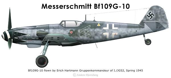 Bf 109 G-6 et G-10 Revell 1/32ème Bf109g10