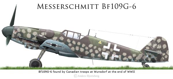 Bf 109 G-6 et G-10 Revell 1/32ème Bf109g11