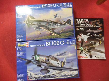 Bf 109 G-6 et G-10 Revell 1/32ème Dscn3010