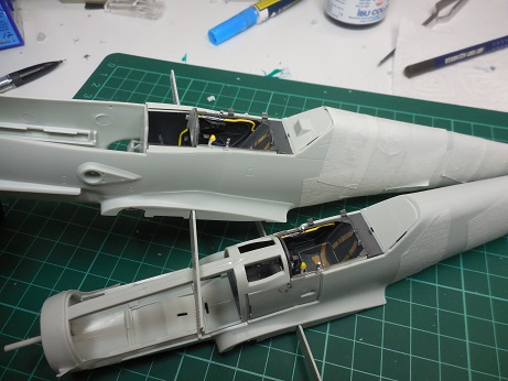 Bf 109 G-6 et G-10 Revell 1/32ème Dscn3027