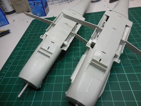 Bf 109 G-6 et G-10 Revell 1/32ème Dscn3042