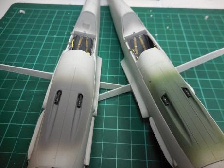 Bf 109 G-6 et G-10 Revell 1/32ème Dscn3049